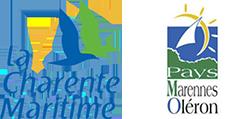 Logos Charente-Maritime et Marennes Oléron - Big'air Parachutisme